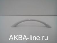 Ручка мебельная скоба 211С-96мм белая