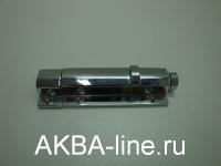 Шпингалет ORSO-34 полуавтомат, ЦАМ, 70мм, хром