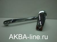 Смеситель Edeny E8102А для кухни (силумин) на гайке