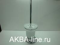 Щётка для унитаза D-Lin D201405 напольная стекло