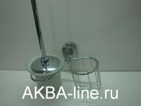 Щётка для унитаза Edeny ЕН1811-1 с держателем для освежителя воздуха