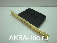 Замок врезной 189-F4 с крестообразным ключом/золото (СК Kaskad)
