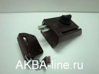 Замок накладной 086500-ЗНД1А-К(П)/М медь правый