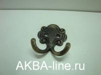 Крючок КВ-2 бронза(23гр)