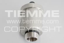 """Клапан TIEMME 1/2"""" 1980001 воздухоотводный"""