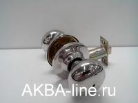 Ручка-защелка KORALL 6352 (6082) CP-BK