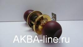 Ручка-защелка KORALL 6873 (6072) WК/PBPS