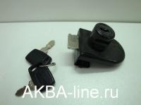 Замок мебельный ARMSTRONG 408/5 черный одиночный