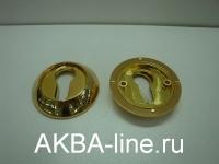 Ключевина к ручке дверной KORAL LE GP (овал)