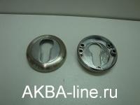 Ключевина к ручке дверной KORAL SE SN/CP