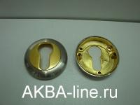 Ключевина к ручке дверной KORAL SE SN/GP