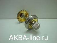 Завертка к ручке KORAL SE SN/GP матовый хром/золото