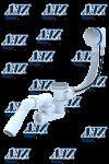 Перелив ANI Е 421 автомат регулируемый (пластиковый хром)