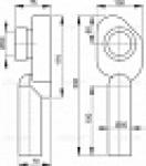 Сифон ALCAPLAST А-45С для писсуара вертикальный
