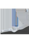 Перелив ANI EC155 Click-Clack 40*50 для ванны с вып