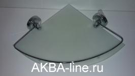 Купить Полка Ledeme L3521-1 угловая 1- ярус/стекло в Перми