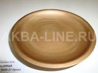 BATEX DELIA 9305-21 Мыльница бронзовый