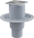 Трап для душа ALCAPLAST APV-2321 ПР пластмасса, нержавеющая решетка Г/Р КОМБИ