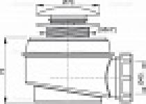 Трап для душа ALCAPLAST A-465D50 клик/клак 1 1/2 нж
