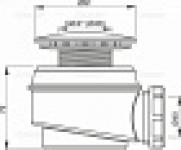 Трап для душа ALCAPLAST A-47CR60 1 1/2 D60 хром
